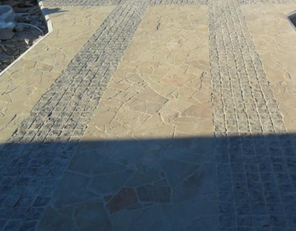 укладка плитняка песчаника качественно. большой опыт работы.