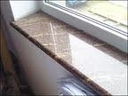 Укладка подоконных мраморных полированных плит