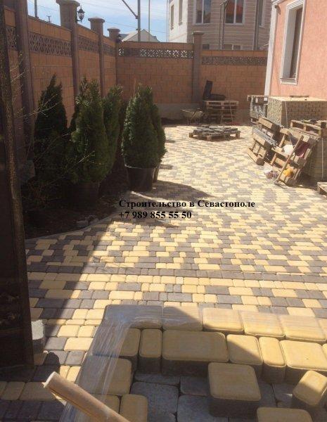 Фото 6 Укладка тротуарной плитки в Севастополе 334396