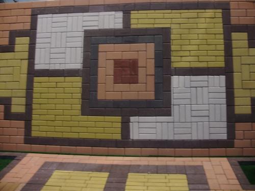 Укладка тротуарной плитки. Установка поребрика. Мощение всех форм тротуарной плитки.