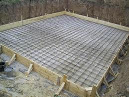 Укладка жароупорного бетона в фундаменты под фабрично-заводские трубы и доменные печи