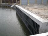 Укрепление берега с бетонным оголовником