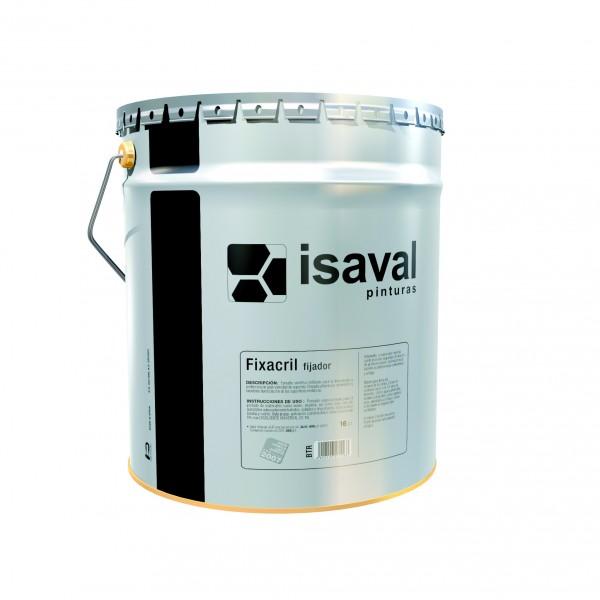 Укрепляющий грунт на растворителе для поверхностей в плохом состоянии, улучшает качество бетона Фиксакрил 4л до 60м2