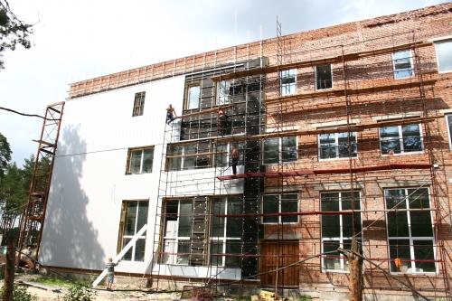 Улаштування фасадних систем всіх типів.