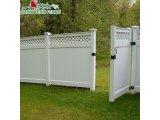 Фото  5 Пластиковые заборы (ПВХ) глухие с решетками. 590556