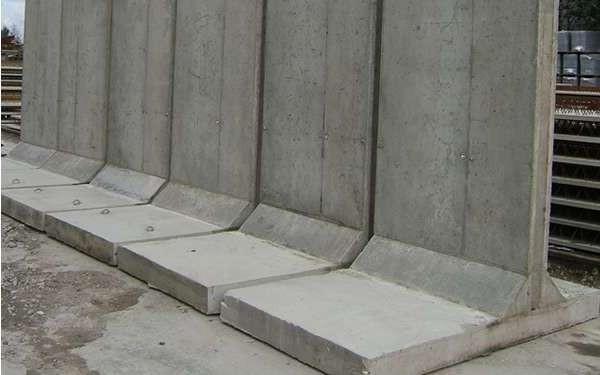Унифицированные конструкции подпорных стен  ИСА-17 ИСА-20 ИСА-23 ИСА-27 ИСА-33 ИСА-37 ИСА-43
