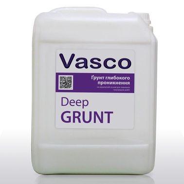 Универсальная глубокопроникающая грунтовка на акрилатной основе Vasco Deep Grunt (Васко Дип Грунт)