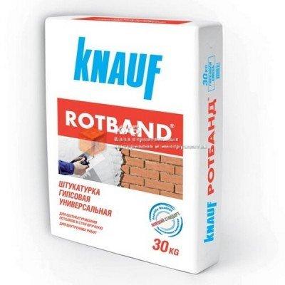Фото  1 Универсальная штукатурка Кнауф Ротбанд (Knauf Rotband) (30 кг) 1749758