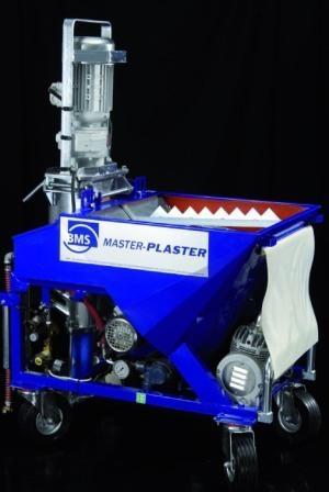 Универсальная штукатурная станция BMS Master Plaster, используется при отделке внутренних и наружных помещений