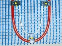 Универсальная система отопления на мини-матах (вода электричество) Vario- Therm 1М 5,0 м. кв ( 0,8х6,2)
