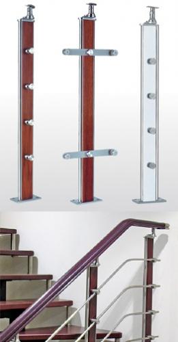 Универсальная стойка для лестничных ограждений.