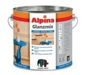 Универсальная цветная эмаль Alpina GLANZMIX. для финишных покрытий по дереву, металлу и твердому ПВХ.