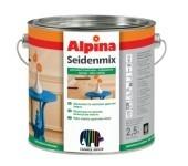 Универсальная цветная эмаль Alpina SEIDENMIX. для финишных покрытий по дереву, металлу и твердому ПВХ.