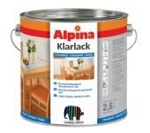 Универсальный глянцевый лак Alpina KLARLACK GLAENZEND