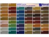 Универсальный цветной лак для защиты дерева, для внутренних и наружных работ Барнис 4л до 56м2