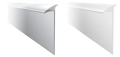 Универсальный уплотнительный профиль 3,2 м белый