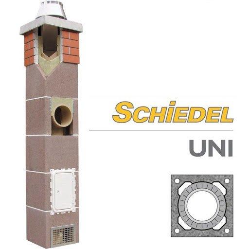 Фото  1 Керамічні димоходи Шидель (Schiedel), діаметри 140/160/200/250/300 мм для твердопаливних котлів універсальні 1254914