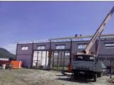 Фермы перекрытия , металлические . Изготовление , доставка , монтаж .