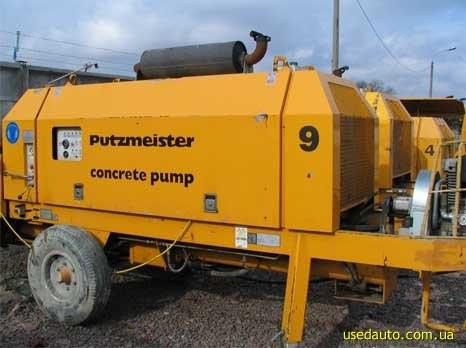 Услуги бетононасоса стационарного PUTZMEISTER BSA 1407 D