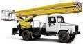 Услуги по аренде Автовышек 22 метра и 18 метров локтевые. Работаем по Киеву и Киевской области.