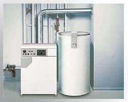 Установка бойлера горячего водоснабжения