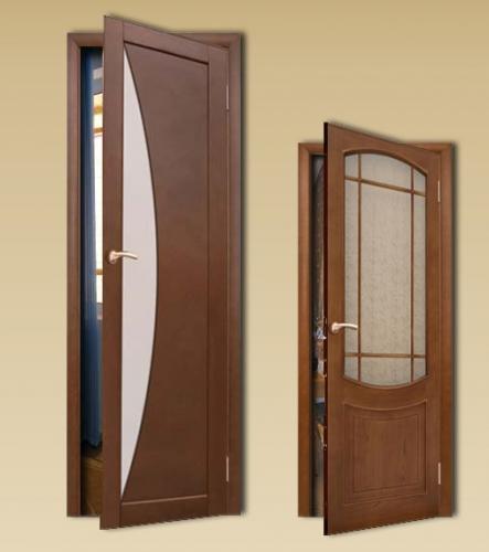 Установка дверей (межкомнатные, входные).