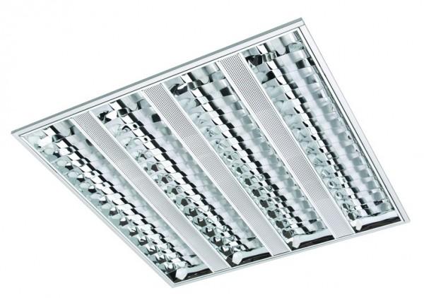 установка и подключение растрового светильника (внетреннего и накладного) стоимость зависит от кол-ва ламп в светильнике