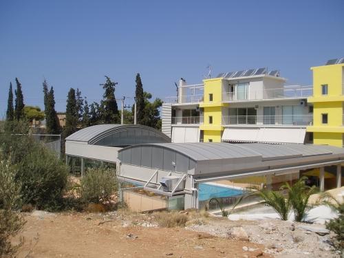 Установка крыш бассейнов, купола, мобильные крыши, перголы