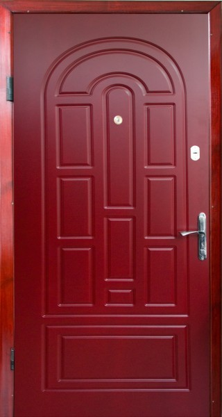 Установка металлических входных дверей