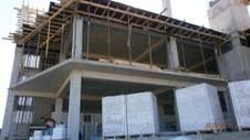 Установка опалубки, вязка каркаса из арматуры со стоимостью опалубки крепежных элементов, бетона, арматуры и бетононасоса