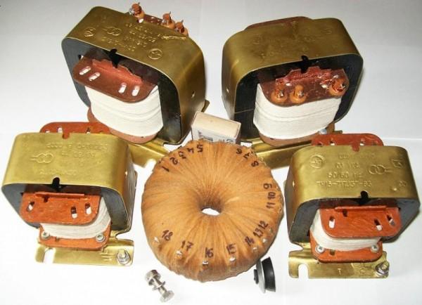 установка трансформатора (дросселя) Цена договорная