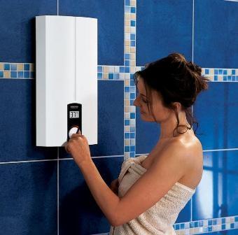 Установка водонагревателей. Сантехнические работы.