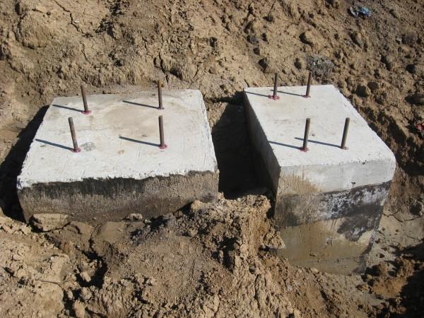 Установка закладных деталей в бетон