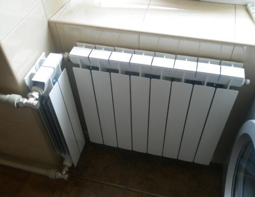 Установка, замена батарей (радиаторов) отопления Харьков