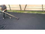 Устройство асфальтобетонного покрытия из мелкозернистых смесей толщиной 50 мм, верхний слой