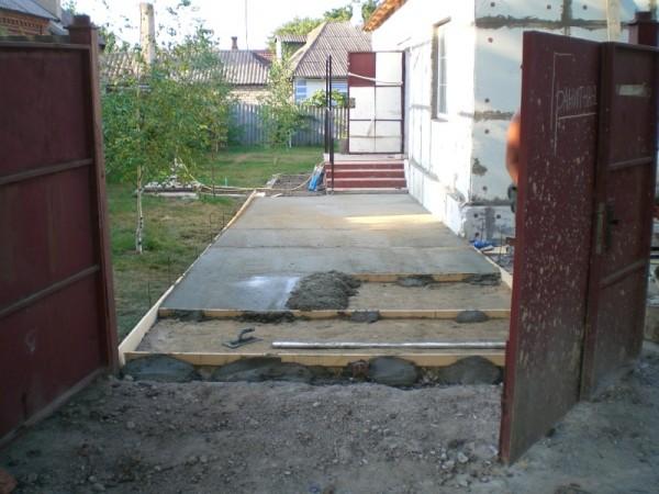 Устройство бетонной основы и бетонной стяжки, фундамента