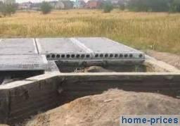 Устройство фундаментных плит железобетонных: с пазами