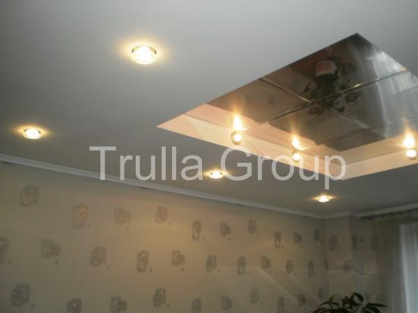 Устройство многоуровневого гипсокартонного потолка без отделки