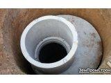 Фото  1 Устройство наружной канализации из бетонных колец 2083278