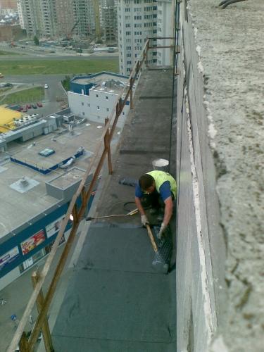 Устройство ограждений крыши