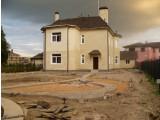 Устройство основания из сухой цементно-песчаной смеси (гарцовка,тощий бетон)