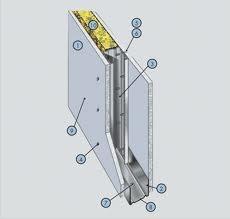 """Устройство перегородок с одинарным металлическим каркасом гипсокартонными плитами по системе """"Кнауф"""""""