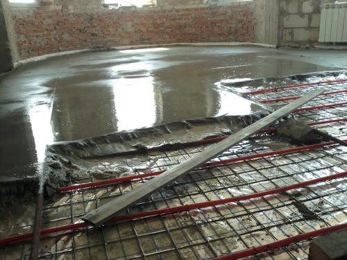 Устройство цементнопесчаной стяжки до 100мм