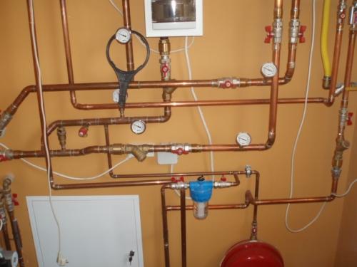 Устройство точки водопровода