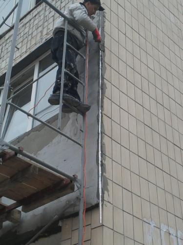 Утепление частных домов, балконов, подъездов