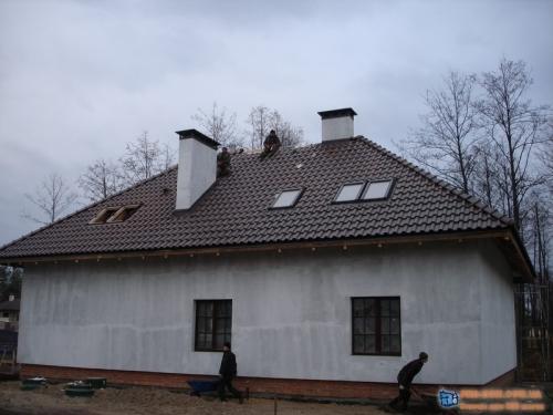 Утепление фасада загородного дома минеральной ватой