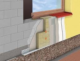 Утепление фасада. Монтаж пенополистирола