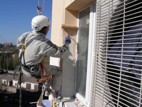 Утепление фасадов квартир и домов в Донецке и Макеевке.