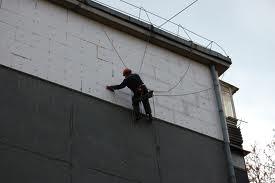 Утепление фасадов (пенопластом, коттеджей, частных домов, стен).