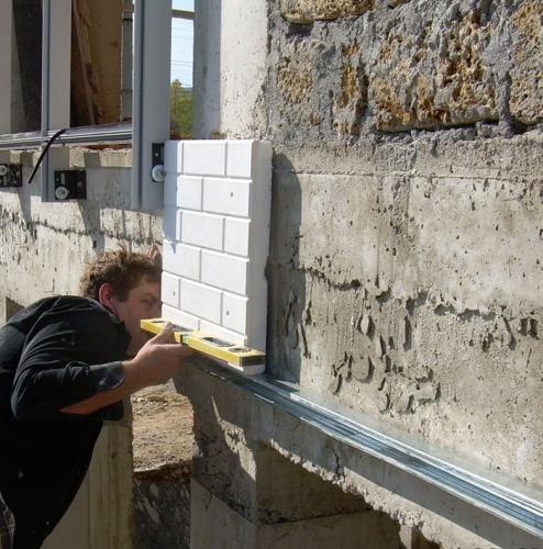 Утепление фасадов(Плиты Полифасад